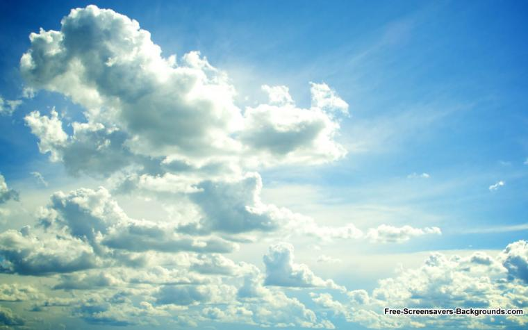 Clouds   Screensavers and Backgrounds
