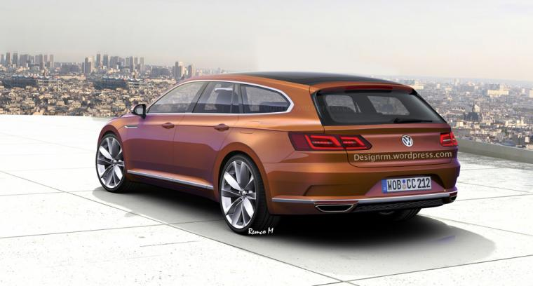 VW Arteon Shooting Brake Might Happen Not Inspired by CLS Class