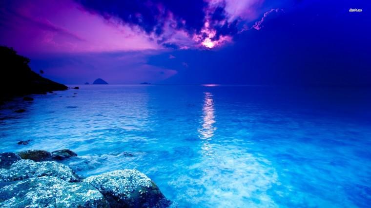 Blue ocean wallpaper   Beach wallpapers   14710