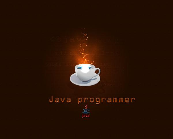 Java Programmer Wallpaper by Gr4Dm4n