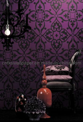 China Tks Elegant Decorative Wallpaper Photos Pictures   made in