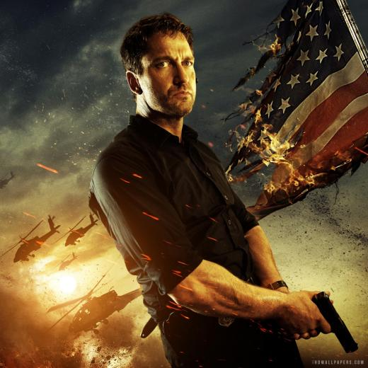 Gerard Butler Olympus Has Fallen Wallpaper
