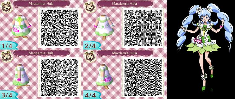 Animal Crossing QR Codes Macadamia Hula by SuperAngel502 on