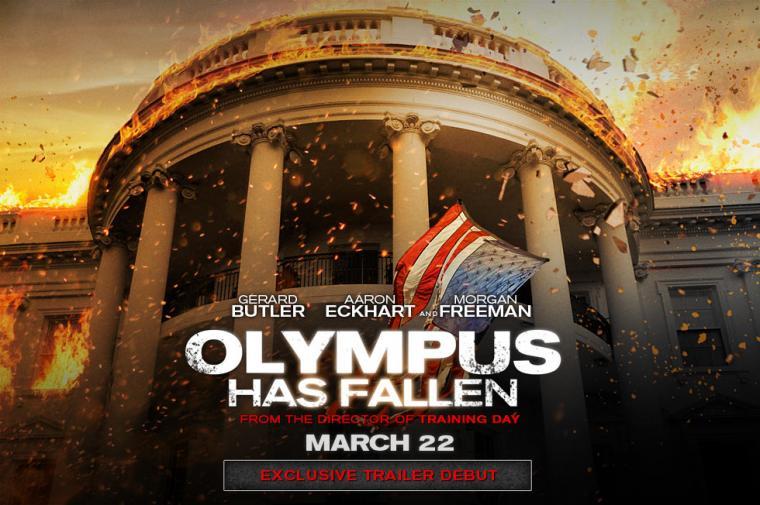 Olympus Has Fallen First Trailer TRAILERICIOUSCOM