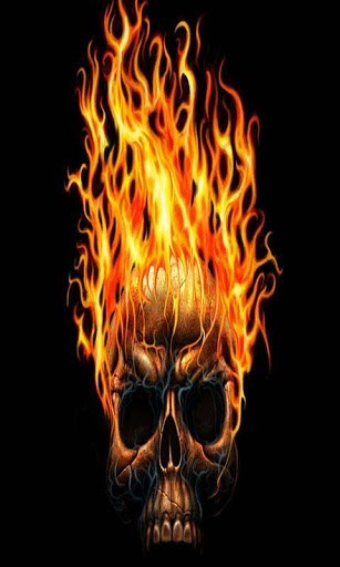 Flame Hot Rose Live Wallpaper
