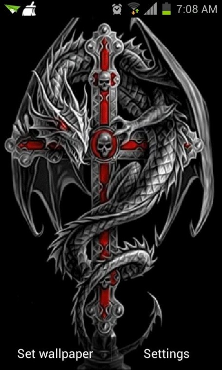Dragon Cross Live Wallpaper Android Live Wallpaper download