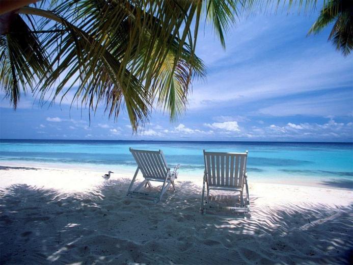 Beach Landscapes Summer Desktop Wallpaper Hd Wallpaper