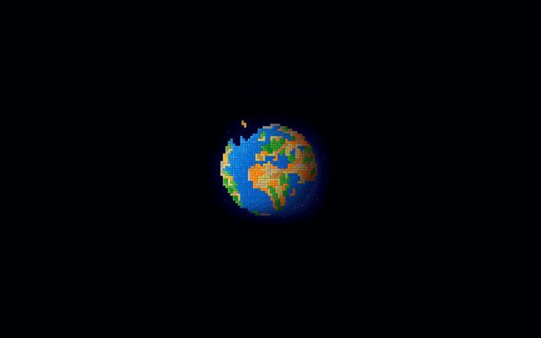 Pixel World wallpapers Pixel World stock photos