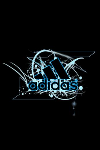 Adidas logos wallpaper for iPhone download
