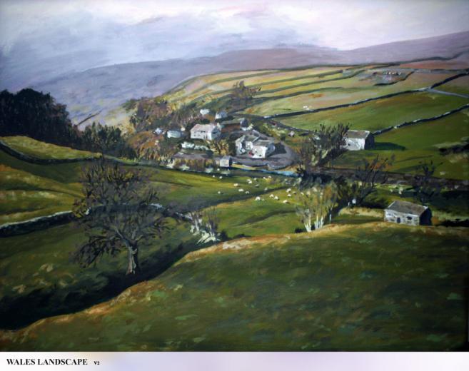 Wales Landscape V2 by Baro