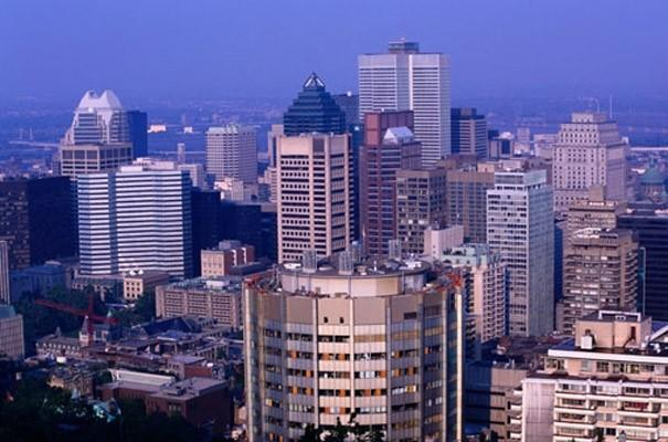 Montreal Canada Photo Wall Mural   Industrial   Wallpaper   by