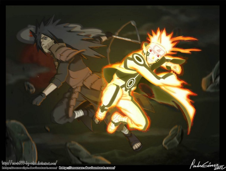 Epic Battle NARUTO VS MADARA by NanoCigT