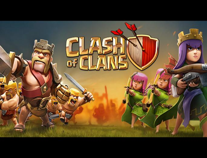 Attack Barbarian King and Archer Queen Wallpaper Clash Of Clans