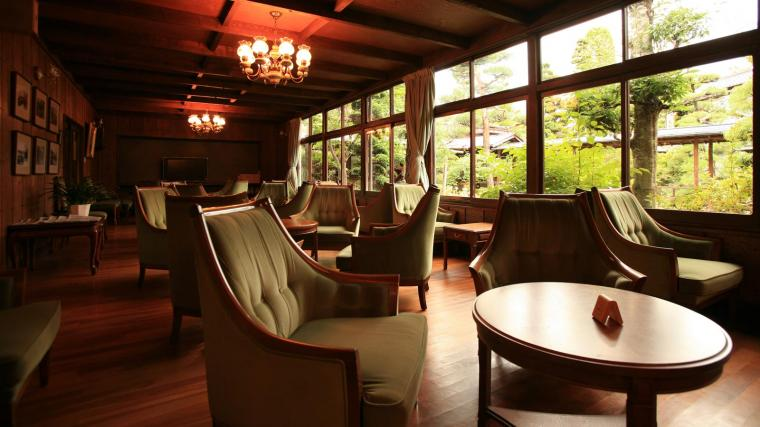 Historical ryokan overflowing with the romance of the Taisho period