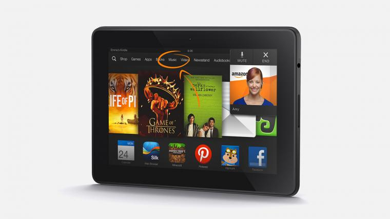Nieuwe Kindle Fire HDX van Amazon heeft superscherm