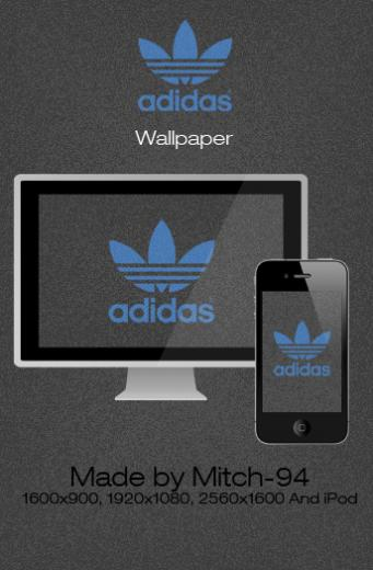 adidas wallpaper and iphone by mitch 94 fan art wallpaper