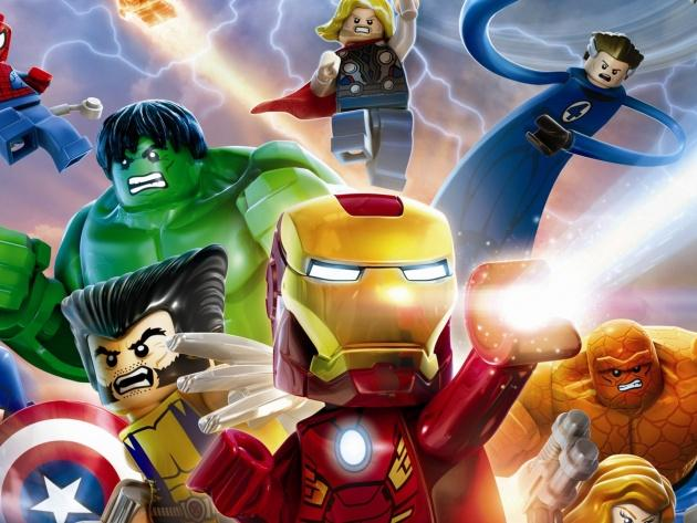 Wallpaper Heroes Game Lego Marvel Super Heroes   Photos and Walls