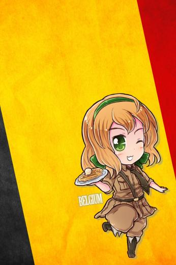 Hetalia iWallpapers   Belgium by Dreamweaver38