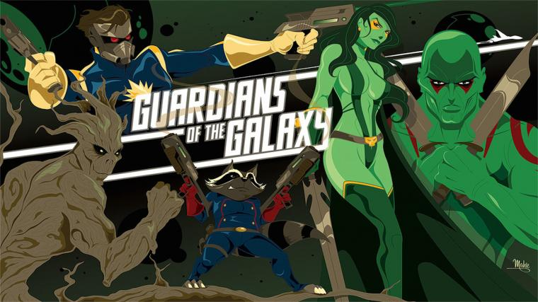 Guardians Of The Galaxy 2014 HD Wallpaper   StylishHDWallpapers