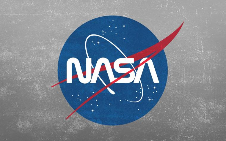 Grunge NASA Worm Logo Wallpaper [2880x1800] wallpapers