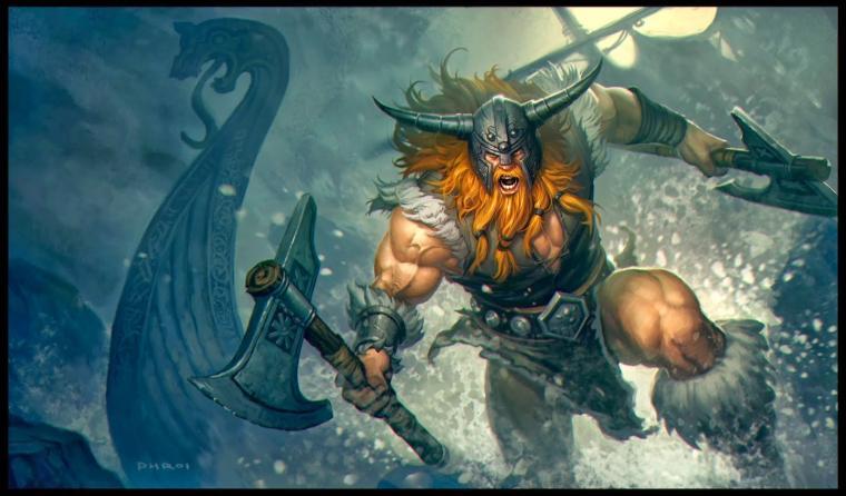 Olaf League of Legends Wallpaper Olaf Desktop Wallpaper
