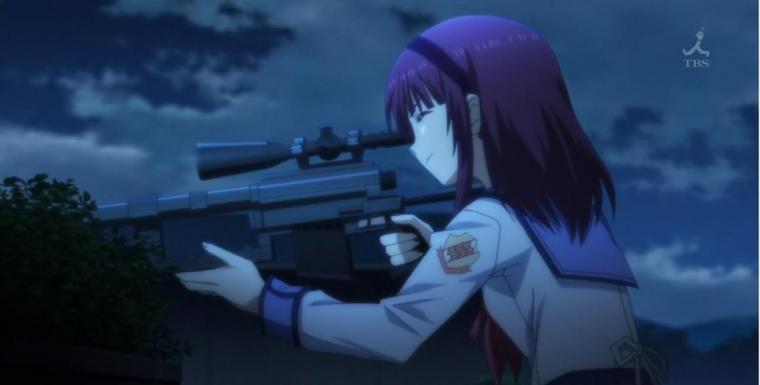 anime girl sniper wallpaper   ForWallpapercom