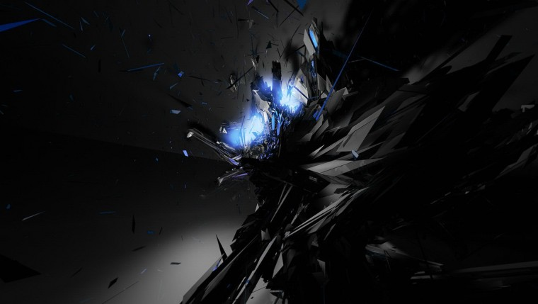Black Blue Abstract Wallpaper 3359 Hd Wallpapers in Abstract