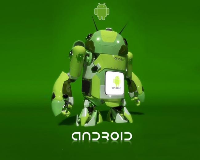 Green Pirate Robot Android Wallpaper Linux Wallpapers