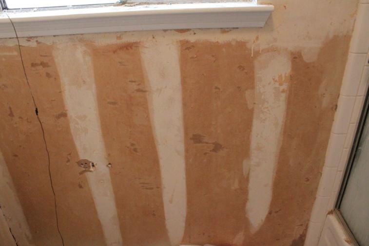 Fixing Drywall After Removing Wallpaper   Painting   DIY Chatroom Home