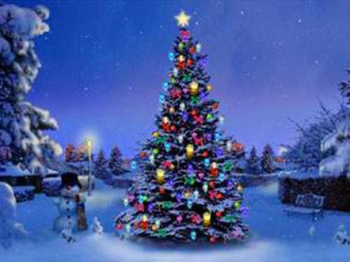 Christmas Tree 3D Screensaver