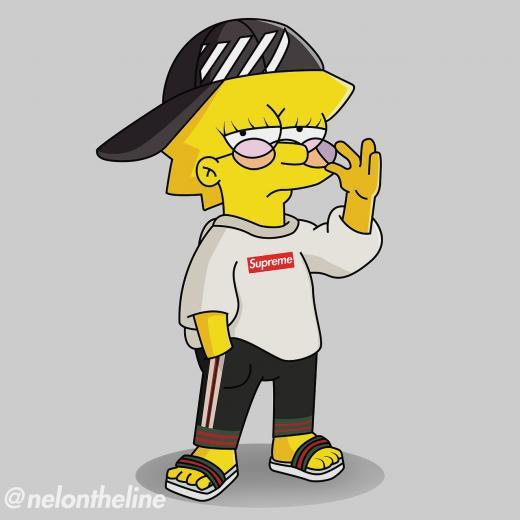 Supreme Bape Boy Gangsta Cartoons Wallpaper wwwgalleryneedcom