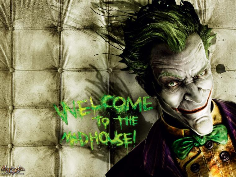 Pics Photos   The Joker Arkham Asylum Smiling Wallpaper