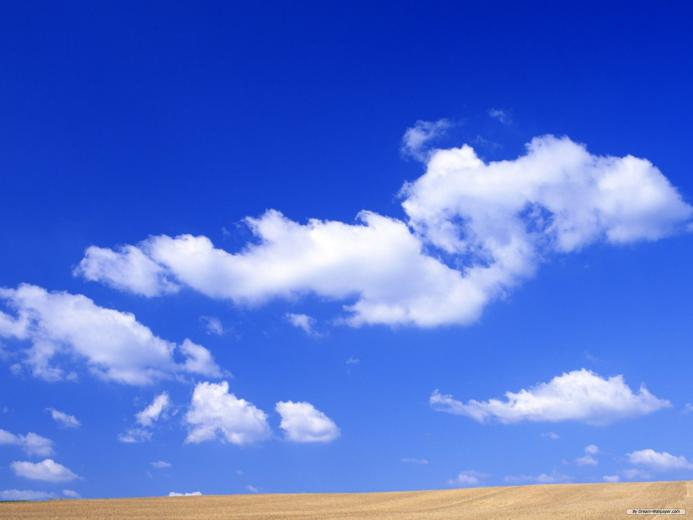wallpaper   Blue Sky And White Cloud 2 wallpaper   1920x1440 wallpaper