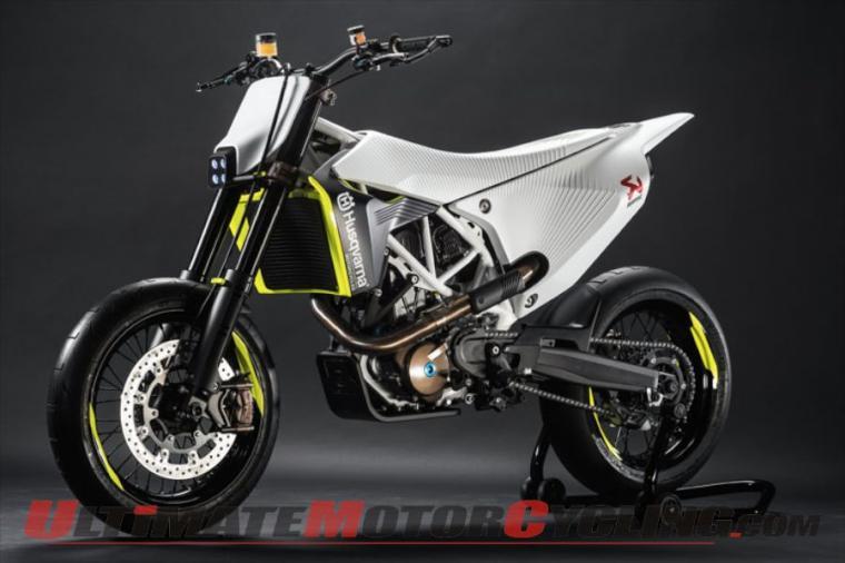 Husqvarna 701 Supermoto Prototype Unveiled at EICMA