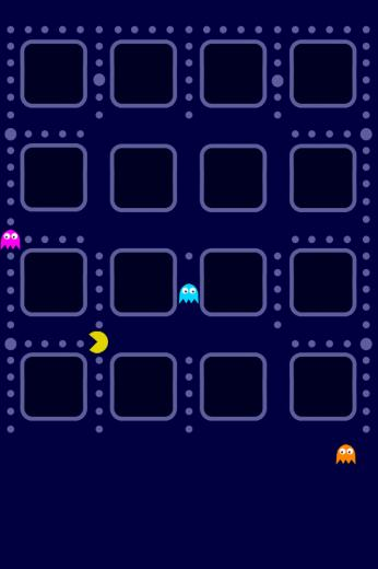 Pacman Wallpapers For iPhone 4 Apple iPhone Wallpapers