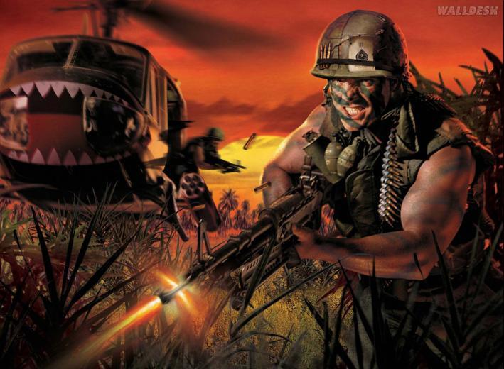 Wallpapers Battlefield Vietnam Papis de parede Battlefield Games