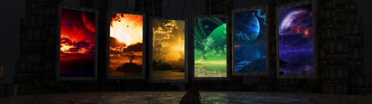 Sci Fi Computer Wallpapers Desktop Backgrounds 3840x1080 ID