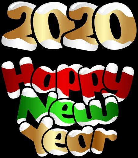 2020 Happy New Year PNG Clip Art Image Gallery Yopriceville