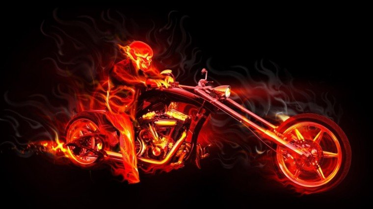 Skull Flames Fantasy Wallpaper Hd 6474 Wallpaper Wallpaper hd