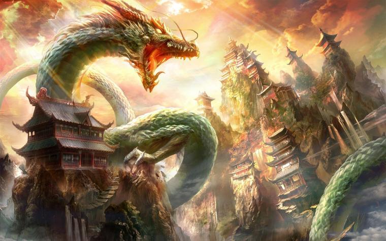 Oriental Dragon Wallpaper Oriental Dragon iPhone Wallpaper Oriental