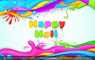 Happy Holi 4K or HD wallpaper for your PC Mac or Mobile device