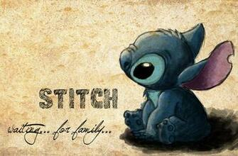 Stitch   waiting for family by vivsters