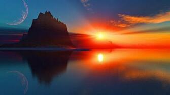 sunset wallpaper for desktop background Daily pics