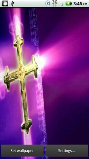 Golden Cross 3D Live Wallpaper   Android Apps on Google Play