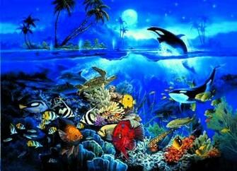 Underwater Ocean Backgrounds HD wallpaper background