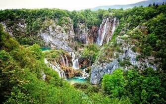 Download 3500x2188 Plitvice Lakes National Park Croatia Mountain