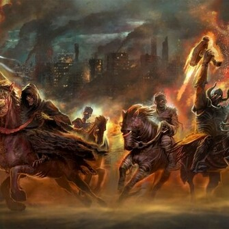 Download Four Horsemen Of The Apocalypse wallpaper in Games wallpapers