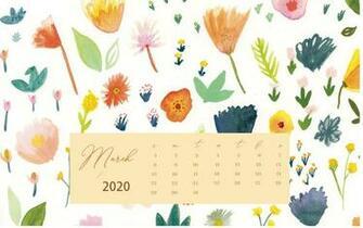53] 2020 Calendar Phone Wallpapers on WallpaperSafari