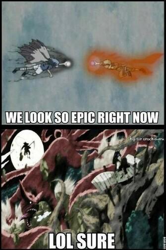 epic encounter   Naruto Picture