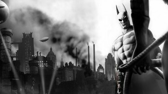 Batman   Arkham City wallpaper 3994